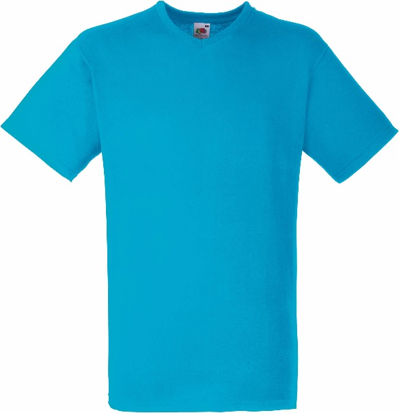 Tee shirt T-shirt Homme Col V Valueweight (61-066-0) Sc22v 3