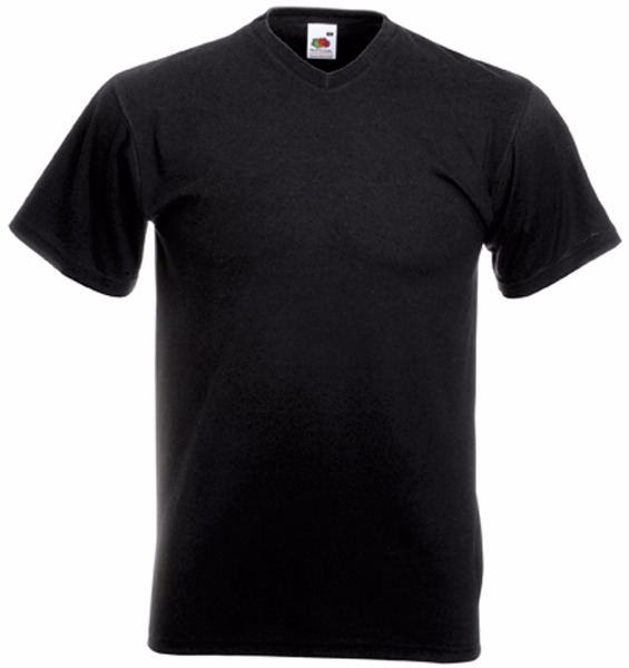 Tee shirt T-shirt Homme Col V Valueweight (61-066-0) Sc22v 4