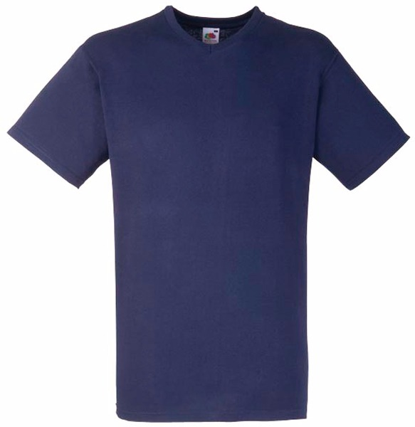 Tee shirt T-shirt Homme Col V Valueweight (61-066-0) Sc22v 5