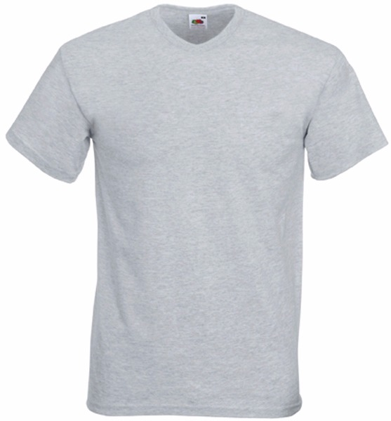Tee shirt T-shirt Homme Col V Valueweight (61-066-0) Sc22v 6