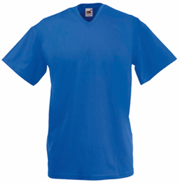 Tee shirt T-shirt Homme Col V Valueweight (61-066-0) Sc22v 12