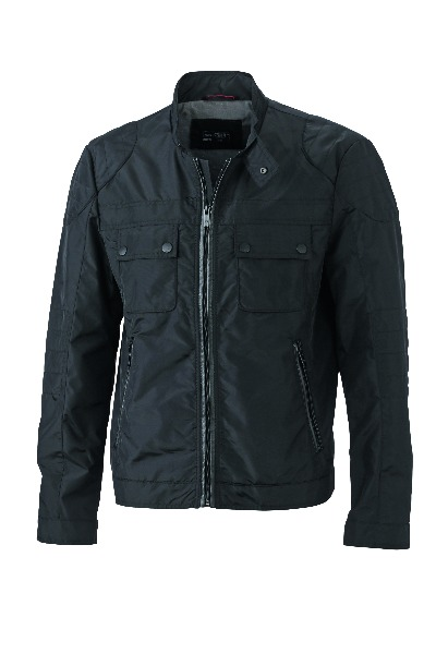 veste motard homme jn1094 parka blouson coupe vent. Black Bedroom Furniture Sets. Home Design Ideas